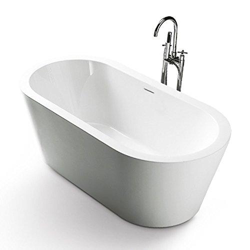 Freistehende Acrylwanne D-8012-178 weiß