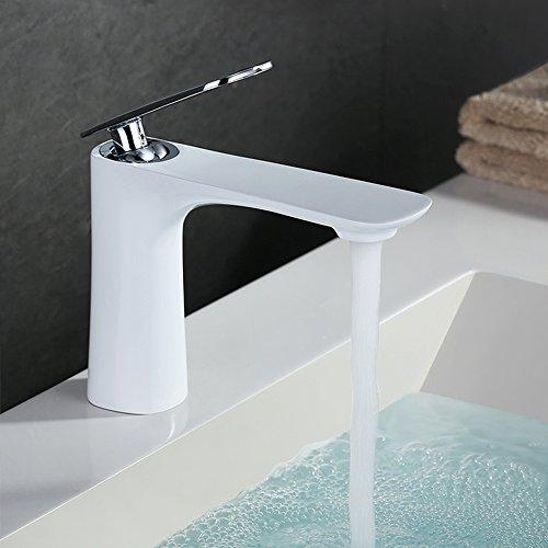 homelody weiss wasserhahn bad waschtischarmatur. Black Bedroom Furniture Sets. Home Design Ideas