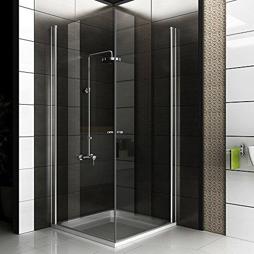 Komplett Duschkabine 90x90x195 / Ecke Dusche / Duschabtrennung / Badezimmer / Kostenlose Lieferung