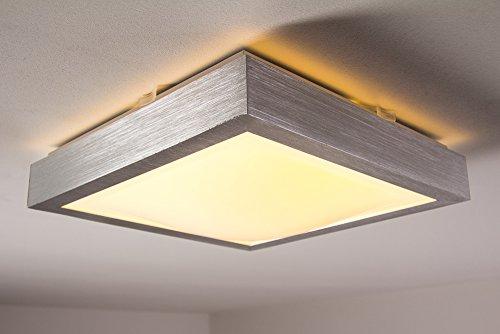 Led deckenlampe wutach eckig 880 lumen 12 watt 3000 kelvin for Led deckenlampe eckig