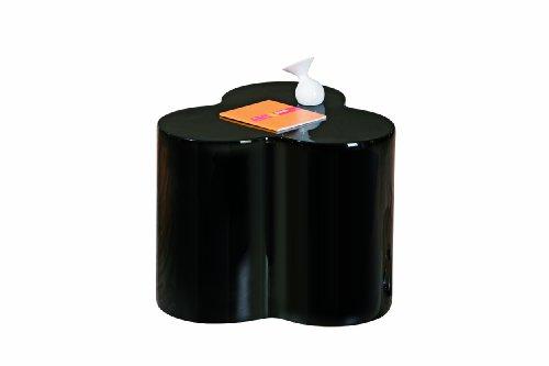 links 99101150 beistelltisch schwarz hochglanz wohnzimmertisch beistell tisch nachttisch modern. Black Bedroom Furniture Sets. Home Design Ideas