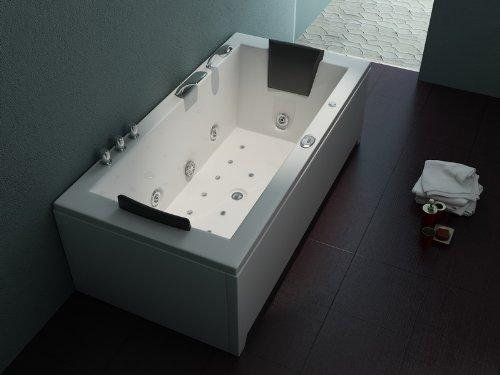 Luxus Whirlpool Badewanne 182x90 + Vollausstattung ! (JACUZZI) - SONDERAKTION !