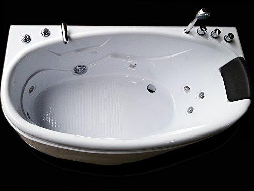"Luxus4Home Design Whirlpool "" Mailand "" exklusiv 172 x 80 x 66 cm"