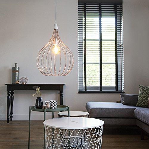 kupfer hngelampe hngeleuchte jazzy kupfer mmax lampe pinterest modern and modern living with. Black Bedroom Furniture Sets. Home Design Ideas
