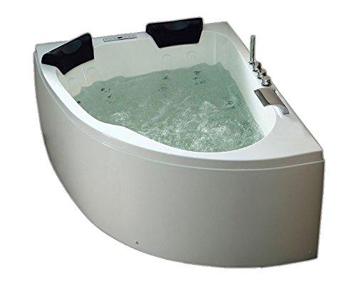 Royal 1600 links Premium Whirlpool (L/B/H) 160x125x70 cm
