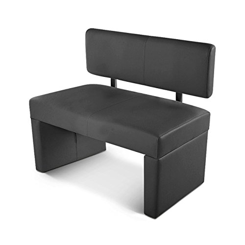 sam esszimmer sitzbank sabatina 100 cm in grau. Black Bedroom Furniture Sets. Home Design Ideas