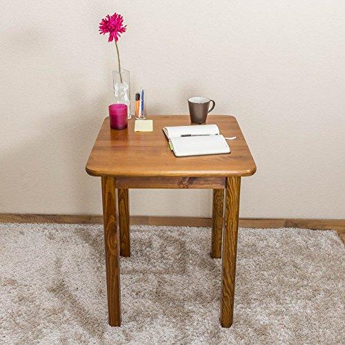 tisch kiefer massiv vollholz eichefarben 002 abmessung 75 x 60 x 60 cm h x b x t m bel24. Black Bedroom Furniture Sets. Home Design Ideas