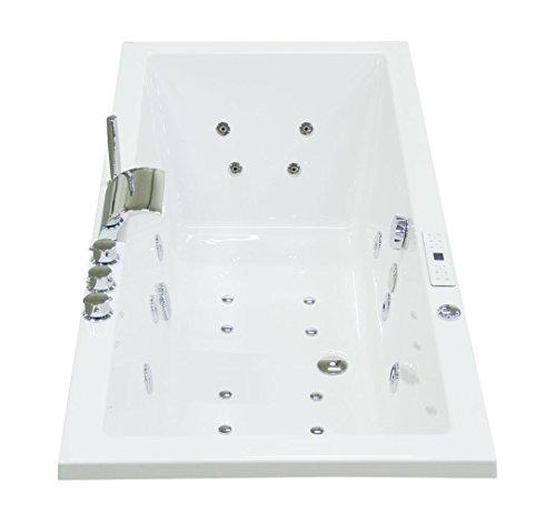 Unity 160x75x59,5 mit 22 Massage Düsen Premium Whirlpool