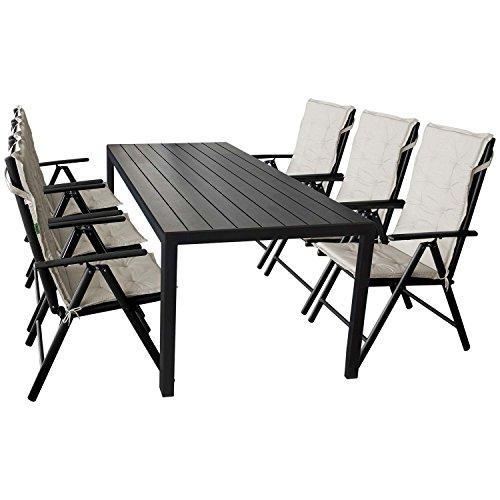 13tlg gartenm bel set gartentisch polywood tischplatte. Black Bedroom Furniture Sets. Home Design Ideas