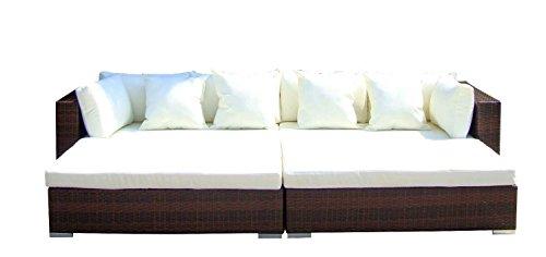 Baidani Rattan Lounge-Garnitur Paradise, 18-teilig