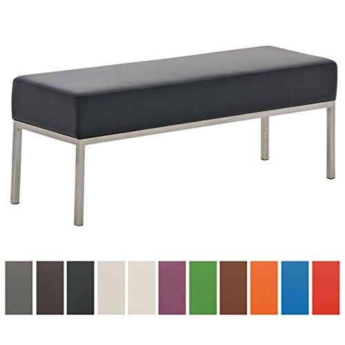 clp 3er edelstahl sitzbank lamega 120 x 40 cm geposltert. Black Bedroom Furniture Sets. Home Design Ideas