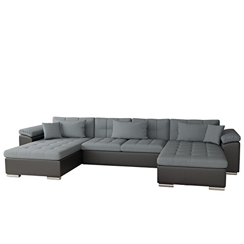 ecksofa wicenza bris elegante big sofa mit schlaffunktion. Black Bedroom Furniture Sets. Home Design Ideas