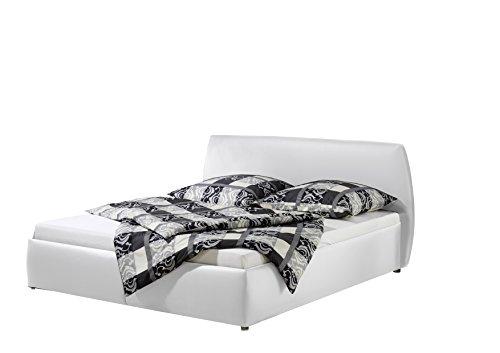 Maintal Betten 234961-4691 Polsterbett Minu 160 x 200 cm, Kunstleder