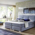Breckle Boxspringbett 180 x 200 cm Cinderella Box Mero Hollanda 1000 Gel Topper Gel Comfort