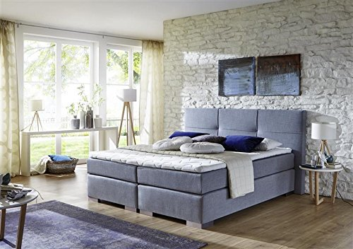Breckle-Boxspringbett-180-x-200-cm-Cinderella-Box-Mero-Hollanda-1000-Gel-Topper-Gel-Comfort-0