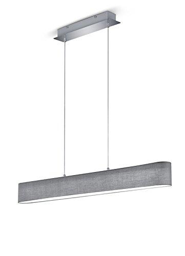 Trio-Leuchten-LED-Pendelleuchte-Nickel-Integriert-18-W-Grau-85-x-100-x-150-cm-0
