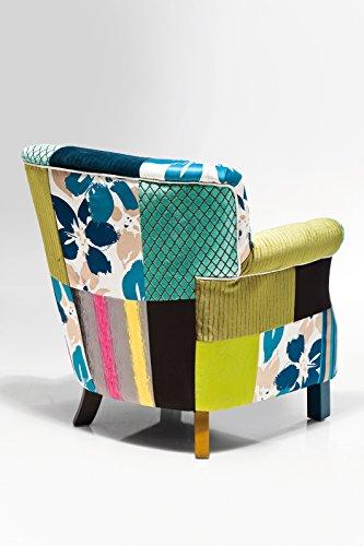 Kare 77852 Sessel, Polyester, bunt, 74 x 66 x 76 cm