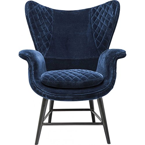 Kare 79523 Sessel Tudor Blue Velvet