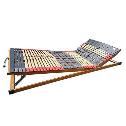 7 Zonen Teller-Leisten Lattenrost Rhodos Komfort KF verstellbar 140 x 200 cm
