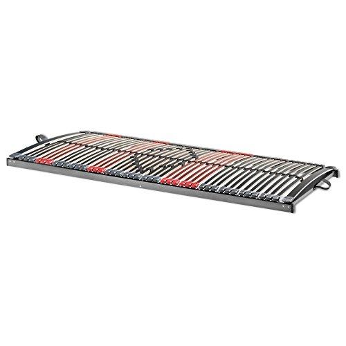 Betten-ABC 7-Zonen Lattenrost Max Premium NV/Lattenrahmen in 140 x 200 cm mit 44 Leisten und Mittelzonenverstellung - geeignet für alle Matratzen