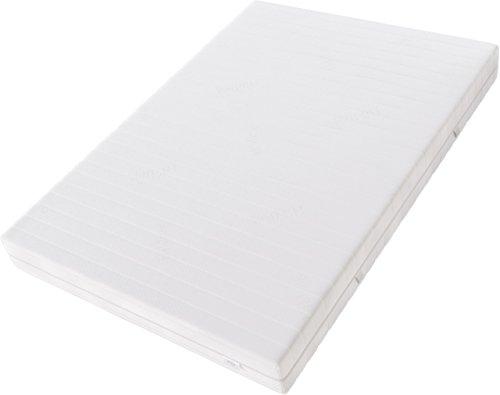 Hilding Sweden Komfortschaum (RG32) Mittelfeste 7-Zonen Matratze für Alle Schlaftypen (H3)/200 x 100 x 21 cm Kaltschaummatratze, Schaumstoff, Weiß, 200 x 100 cm
