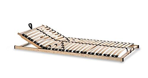 metatex Lattenrost 7 ZONEN 28 Leisten Zerlegt Härtegrad- und Kopfteilverstellung (90 x 200 cm)